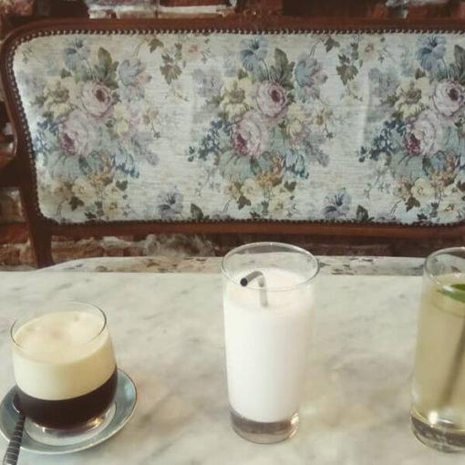 Boissons fraîches salon de thé Madame Bovary