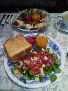 Assiettes déjeuner